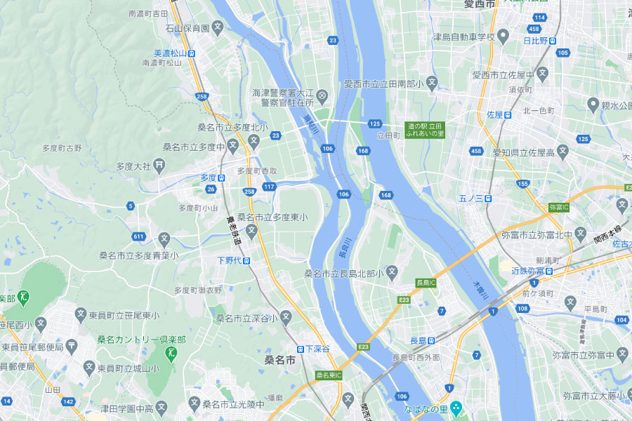 長良川の大会範囲