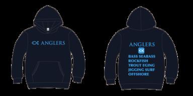 2018年度 ANGLERSパーカー作成!