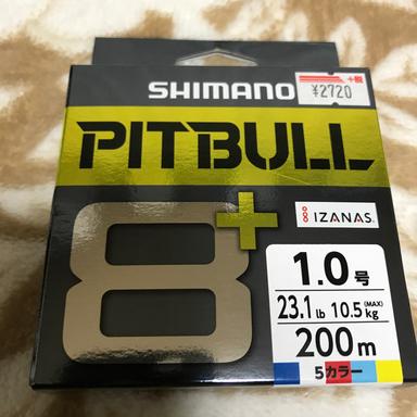 シマノ PITBULL 8+ 1.0号/23.1lb(5カラー)
