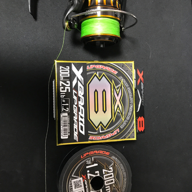YGKよつあみ XBRAID UPGRADE X8 1.2号/25lb