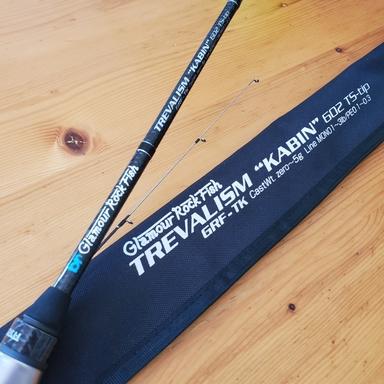 """BREADEN GlamourRockFish GRF-TREVALISM """"KABIN"""" 602 TS-tip"""