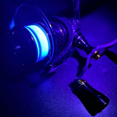 SUNLINE 鯵の糸 エステル NightBlue 0.35号/1.75lb