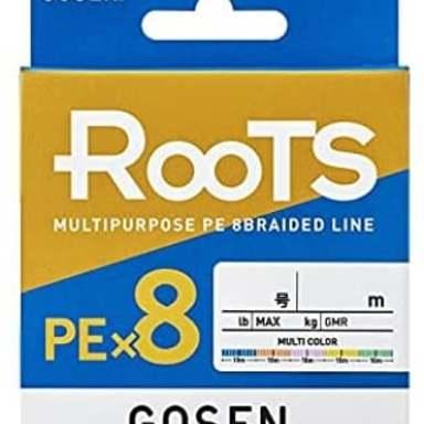 GOSEN Roots PE×8 3号