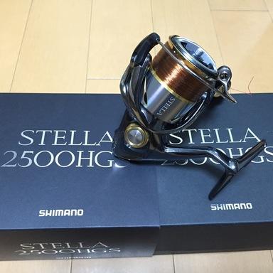 SHIMANO STELLA ('14) 2500HGS