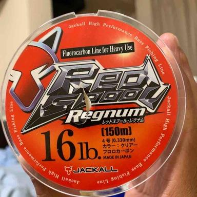 ジャッカル RED SPOOL REGNUM 16lb/4号
