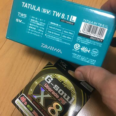 ダイワ タトゥーラSV TW 8.1L
