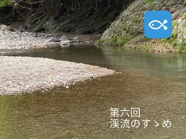渓流のすゝめ⑥ 渓流のモラルを守れ