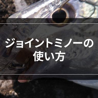 【ライトゲーム】ジョイントミノーを使いこなそう!