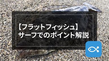 【サーフゲーム】広大なサーフから釣れるポイントをみつけよう。