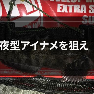 【ロックゲーム】夜型に移行したアイナメを狙え! ナイトも熱いロックフィッシュ!