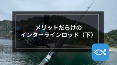 【エギング】メリットだらけのインターラインロッド(下)