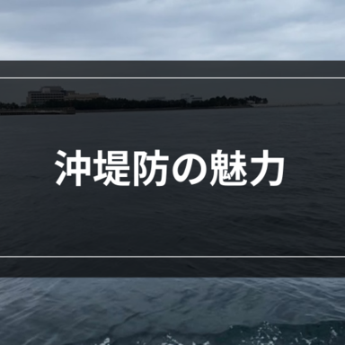 【ライトゲーム】沖堤防の魅力を考える