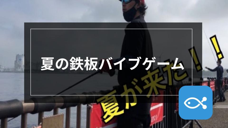 【シーバス】夏の鉄板バイブゲーム