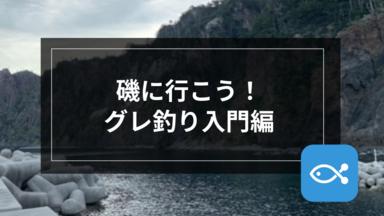 【伝統釣法】磯に行こう!グレ釣り入門編