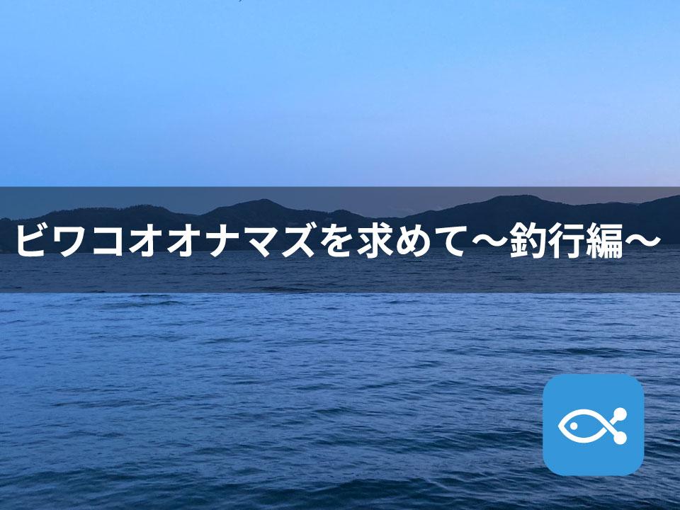 ビワコオオナマズを求めて【釣行編】
