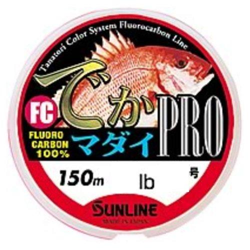 サンライン FCデカマダイPRO 10lb/2.5号