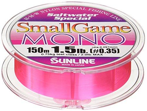 サンライン スモールゲームMONO 1.5lb/0.35号