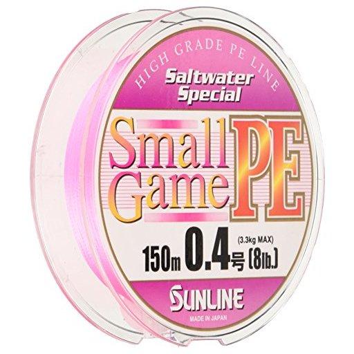 サンライン スモールゲームPE 8lb/0.4号