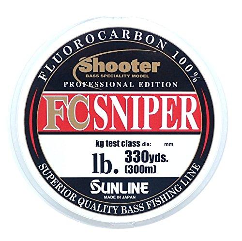 サンライン FCスナイパーBMS 3.5lb/0.9号