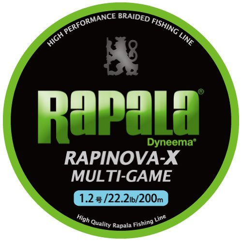ラパラ RAPINOVA-X MULTI-GAME LIMEGREEN 0.3号/7.2Lb
