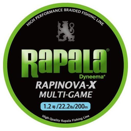 ラパラ RAPINOVA-X MULTI-GAME LIMEGREEN 0.3号/7.2Lb