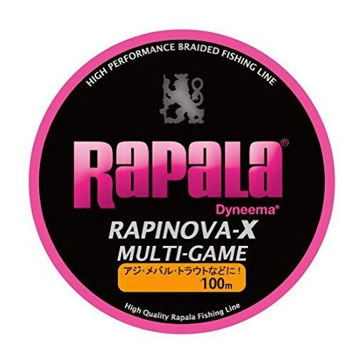 ラパラ RAPINOVA-X MULTI-GAME PINK 0.18号/6Lb