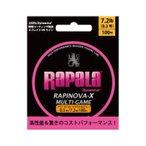 ラパラ RAPINOVA-X MULTI-GAME PINK 0.3号/7.2Lb