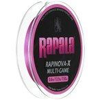 ラパラ RAPINOVA-X MULTI-GAME PINK 0.6号/13.9Lb