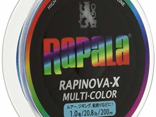 RaPaLa RAPINOVA-X MULTI-COLOR 1.0号/20.8Lb/9.4kg