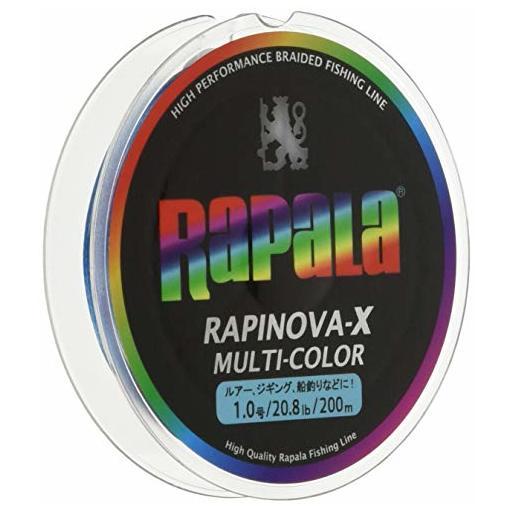 ラパラ RAPINOVA-X MULTI-COLOR 1.0号/20.8Lb/9.4kg