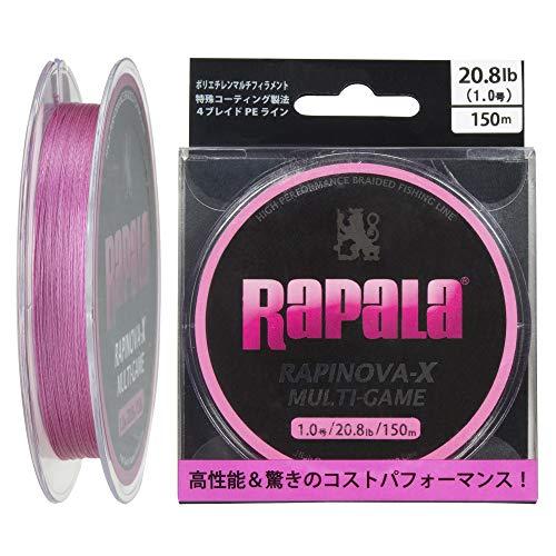 ラパラ RAPINOVA-X MULTI-COLOR 3.0号/39.6Lb/18kg