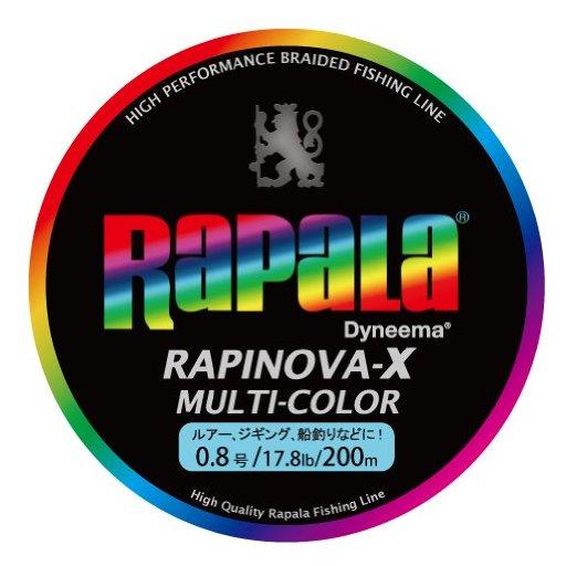ラパラ RAPINOVA-X エギング 0.8号/17.8Lb/8kg