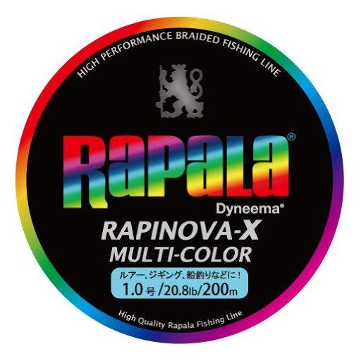 ラパラ RAPINOVA-X エギング 1.0号/20.8Lb/9.4kg