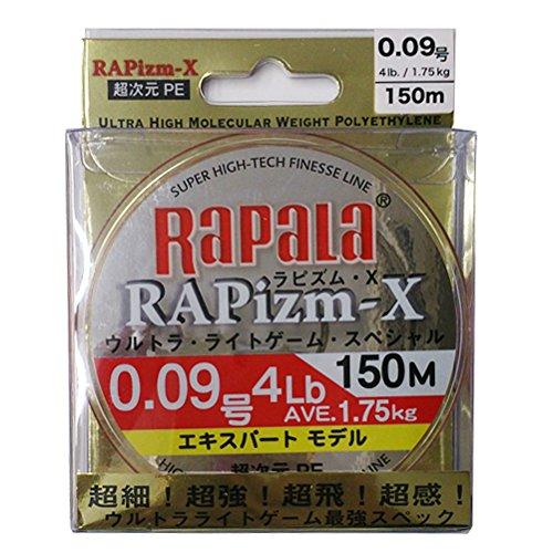 ラパラ RAPizm-X 0.09号/4Lb