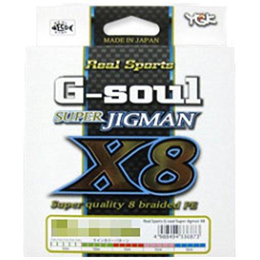 YGKヨツアミ G-soul SUPER JIGMAN X8 0.6号/14lb