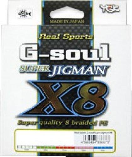 ワイジーケーヨツアミ G-soul SUPER JIGMAN X8 0.8号/16lb