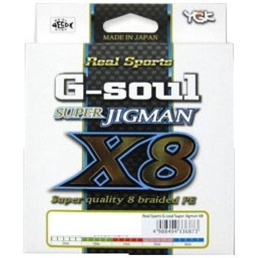 YGKヨツアミ G-soul SUPER JIGMAN X8 0.8号/16lb