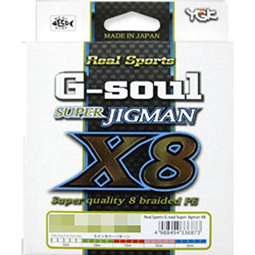 YGKヨツアミ G-soul SUPER JIGMAN X8 1.2号/25lb