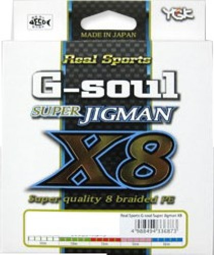 ワイジーケーヨツアミ G-soul SUPER JIGMAN X8 2.5号/45lb