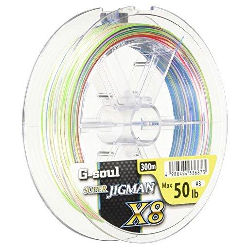 YGKヨツアミ G-soul SUPER JIGMAN X8 3号/50lb