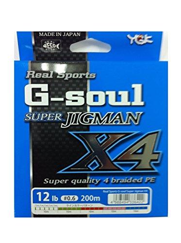 ワイジーケーヨツアミ G-soul SUPER JIGMAN X4 0.6号/12lb