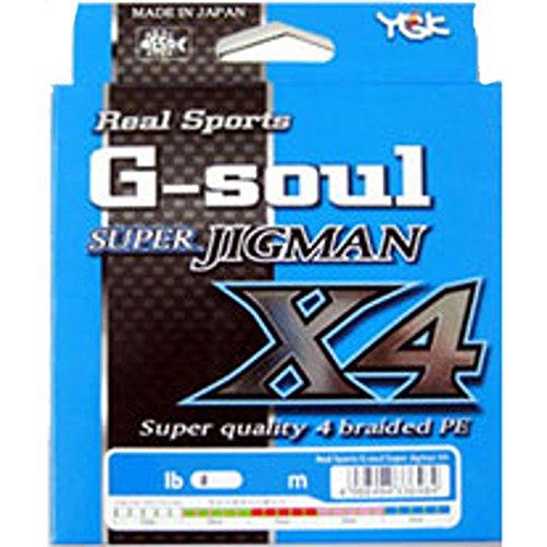 ワイジーケーヨツアミ G-soul SUPER JIGMAN X4 1.2号/20lb