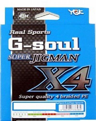 ワイジーケーヨツアミ G-soul SUPER JIGMAN X4 2号/30lb
