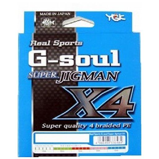 YGKヨツアミ G-soul SUPER JIGMAN X4 4号/50lb