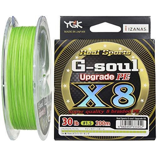 ワイジーケーヨツアミ G-soul X8 UPGRADE 1.2号/25lb