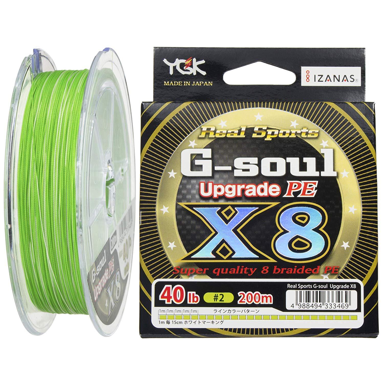 YGKヨツアミ G-soul X8 UPGRADE 2号/40lb