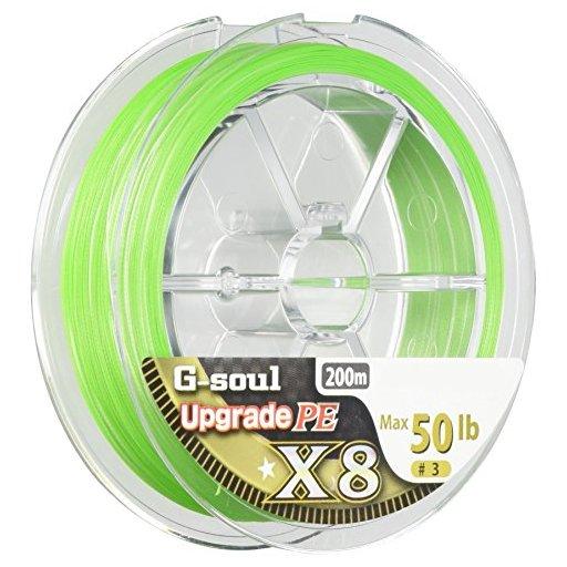 ワイジーケーヨツアミ G-soul X8 UPGRADE 3号/50lb