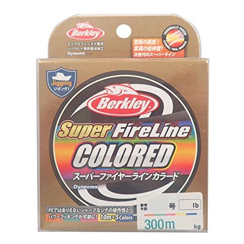 バークレイ Super FireLine COLORED 12lb/0.8号