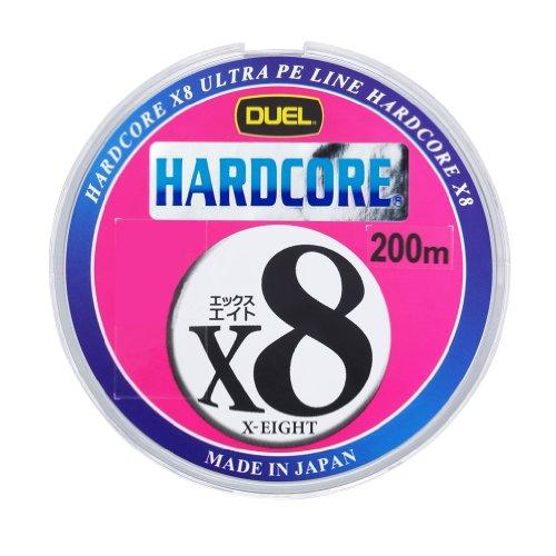 デュエル HARDCORE® X8 0.8号/16lb