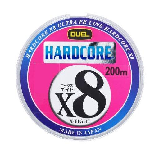 デュエル HARDCORE® X8 1.0号/20lb